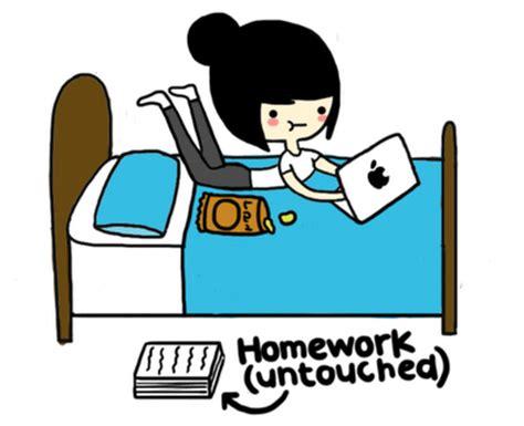 Sleep Deprived Teenager: Too Much Homework